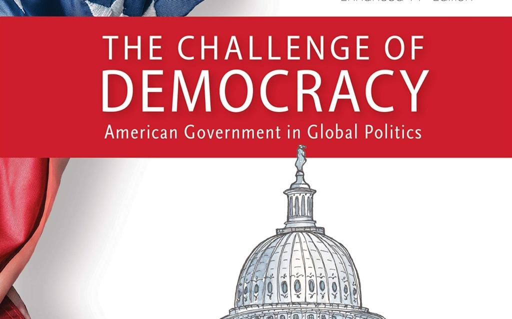 Bogomslag som viser titel, kuppel og spir på Kongressen i Washington, USA